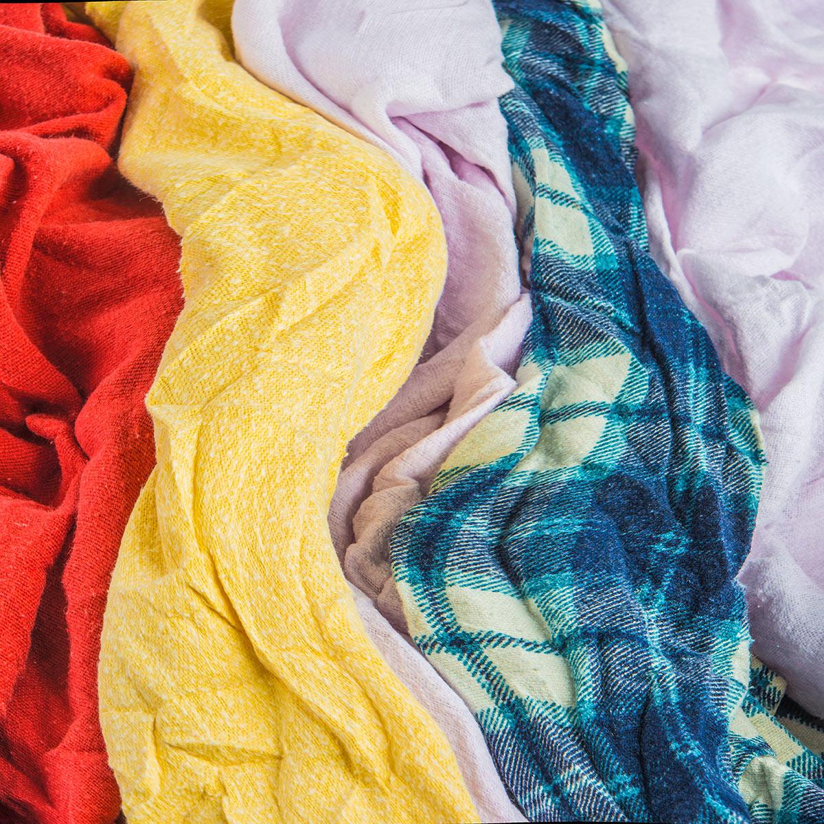 Stoffa Di Flanella Per Lenzuola tessuto di flanella colori misti - lo straccio giusto